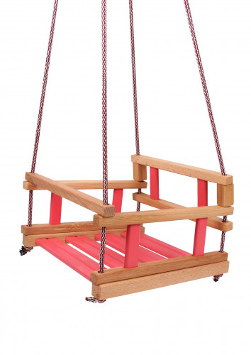 BABY SINGLE SWING RED #1