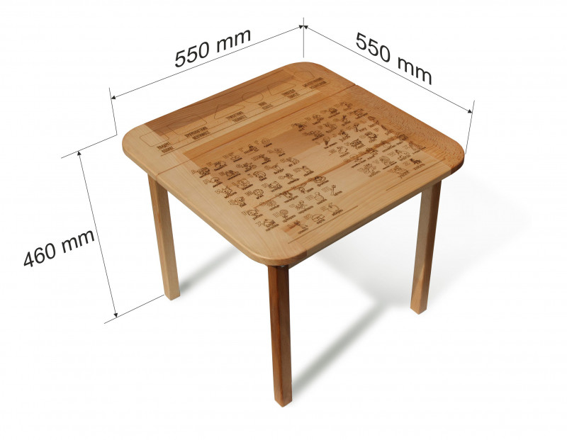 table with box #4