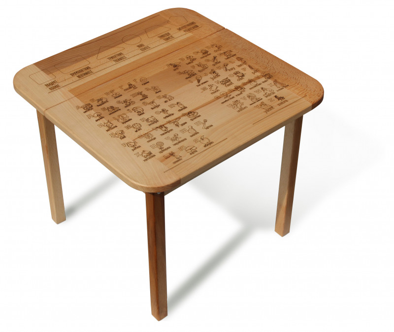 table with box #1